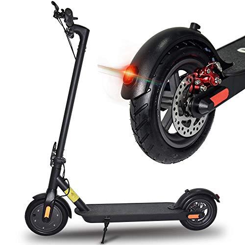 doogoo Elektro Scooter City 250W Faltbarer E-Roller Elektroscooter 25Km/h mit LCD-Anzeige für Erwachsene Jugendliche Schwarz