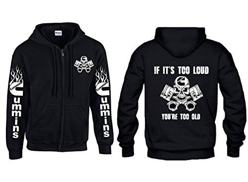 cummins-if-its-too-loud-logo-zippered-hoodie-x-large-black