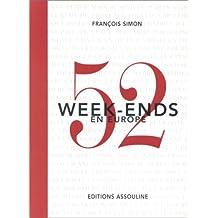 52 week-ends en Europe