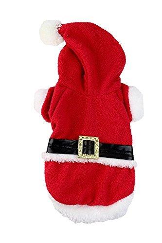 Midlee Kleiner Hund groß Santa Fell Kostüm von