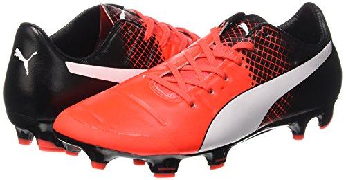 Puma Evopower 2.3 Fg Scarpa da Calcio Rosso (Red/Wht/Blk)