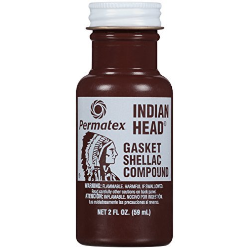 Preisvergleich Produktbild Permatex 20539 Indian Head Gasket Shellac Compound, 2 oz. by Permatex