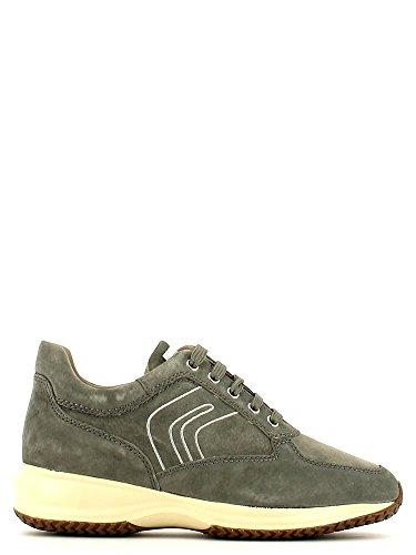Geox , Chaussures de ville à lacets pour homme Gris - Grigio