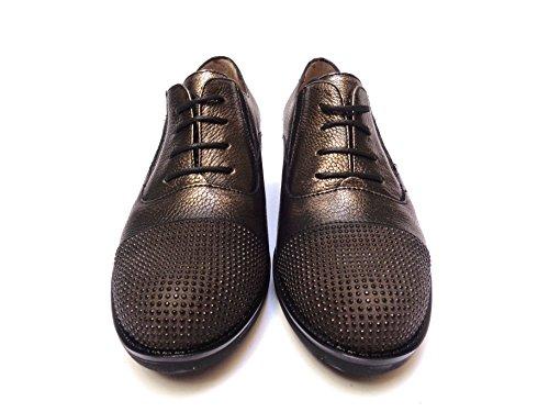 MELLUSO , Chaussures de ville à lacets pour femme Piombo