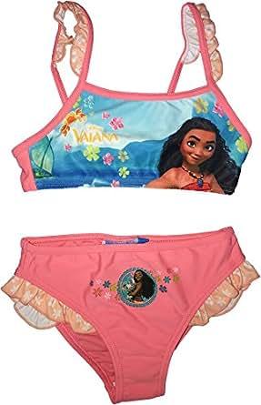 Vaiana costume due pezzi ragazza rose 4 anni amazon - Costumi piscina due pezzi ...