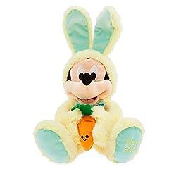 Idea Regalo - Disney Topolino Mickey Mouse Peluche Pasqua 45 CM Originale Store