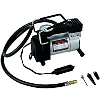 12V - 150 PSI Heavy Duty Electric Car Bike Metal Air Compressor Tire Inflator Pump