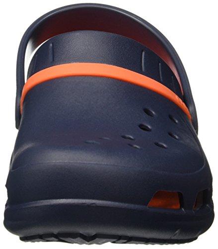 Crocs Unisexe MODI Sport Sabots Navy/Tangerine