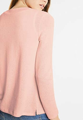 Street One Damen Offene Basic Jacke Nette lucky peach (orange)