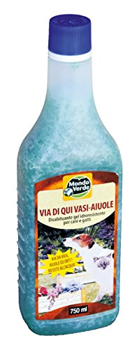 Mondo verde rep05ep–repellente per cani e gatti in gel 750ml, colore: blu