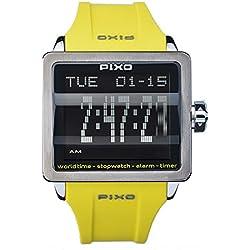 PX-1 YELLOW, Digital Flip Watch