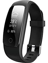 Willful Orologio Fitness Tracker Uomo Donna Cardiofrequenzimetro da Polso Smartwatch Contapassi Smart Watch Android iOS Smartband Bambini Impermeabile IP67 Cronometro per iPhone Samsung Xiaomi Huawei