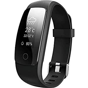 Willful Fitness Tracker Orologio Smartwatch Android iOS Cardiofrequenzimetro da Polso Donna Uomo Impermeabile IP67 Smart Watch Braccialetto Fitness per Samsung Huawei iPhone Android iOS Smartphone