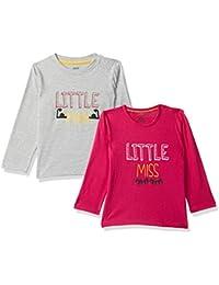 MINI KLUB Baby Boy's Plain Regular fit T-Shirt (Pack of 2)