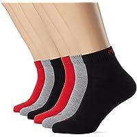Unisex Quarters Socken Sportsocken 6er Pack