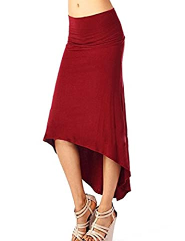 KKia - Jupe - Femme - Rouge - X-Large