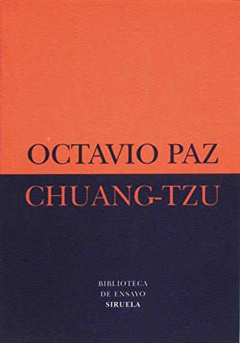 Chuang-Tzu (Biblioteca de Ensayo / Serie menor) por Octavio Paz