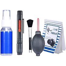 Neewer 6-en-1 10083830 -  Kit de limpieza profesional para cámaras réflex digitales y electrónica sensible (Canon, Nikon, Pentax, Sony, telescopios y binoculares)