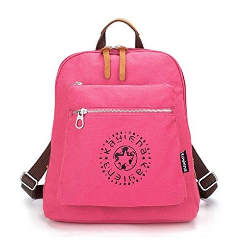 Tiny Chou da donna e ragazza, impermeabile, zaino, borsa a tracolla, in tela Rosso (Rosso/rosa)