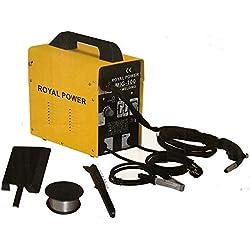 Poste à souder à fil continu sans gaz MIG 100 A 230V ROYAL POWER
