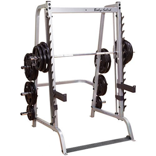 Body Solid Series 7 GS348Q Smith Machine with Linear Bearings by Body...