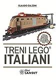Treni Lego italiani, con istruzioni passo passo per costruire il locomotore con mattoncini Lego