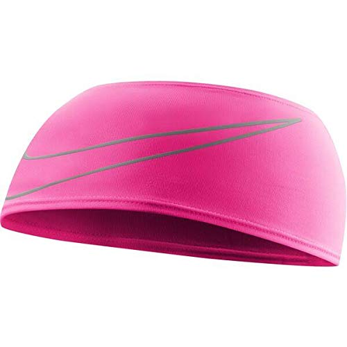 Nike Swoosh Headband pink gaze/oil grey