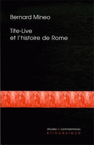 Tite-Live et l'histoire de Rome
