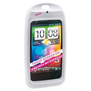 Aquapac Aryca Waterproof Hard Case for Smartphones White white Size:M