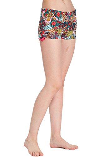 Calzoncini da mare donna, pantaloncini per bikini, Hot Pants Sport Bikini, pantaloncini da nuoto, colorati 2017-Neu-8
