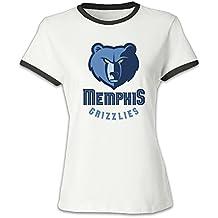 Memphis Grizzlies colorâ bloqueo corto camiseta deportiva para hombre de las mujeres de la moda