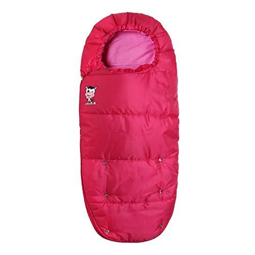 Sacco termico per ovetto - Babelala copertura Invernale per Passeggino Universale Coprigambe antivento In pile Con punti cintura Cappuccio regolabile - 3 stagioni