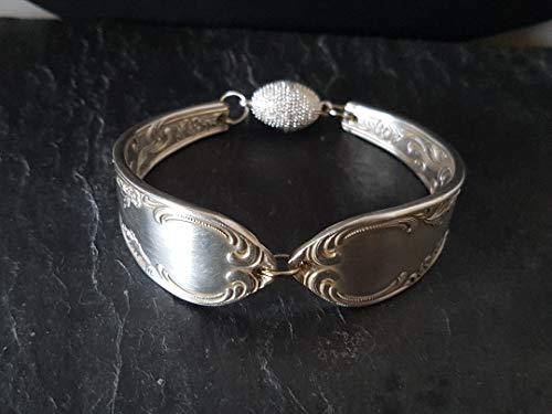 Armband aus Silberbesteck Schmuck aus Silberbesteck