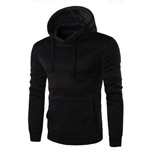 Tonsee® Hommes Manches Longues Retro Hoodie Sweat-Shirt à Capuche des Tops Veste Manteau Outwear