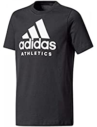 Adidas Performance T-shirt Sport Id Gris T-shirts Manches Courtes Enfant Multisports