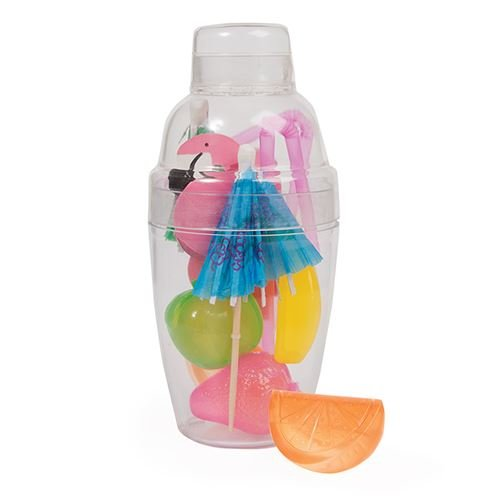 Unbekannt Fizz Creations Mini Cocktail-Shaker-Set, Mehrfarbig, 15 x 9 cm