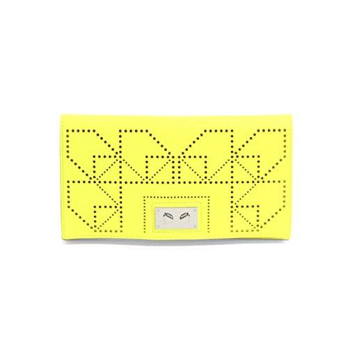 Danielle Nicole Wila Clutch Donna PVC Neon Yellow