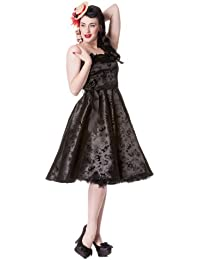 Hell Bunny Kleid TATTOO FLOCK DRESS