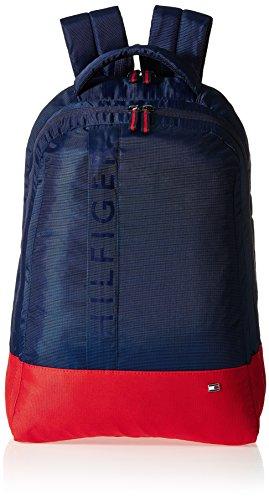 Tommy Hilfiger Biker Club - Basil 21.6 ltrs Navy Casual Backpack (TH/BIKOL08BAS)