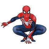 RNGNBKLS Déguisement Spiderman Adulte Enfant Halloween Cosplay Carnaval Costume...
