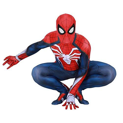 RNGNBKLS Spiderman Kostüm Erwachsene Kinder Halloween Cosplay Karneval Spiderman Anzug Spandex/Lycra Verkleidung,(Women) style-1-S