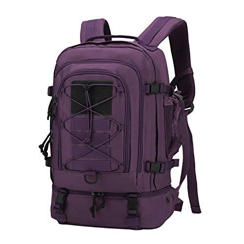 Mardingtop 25L/28L Taktischer Militärischer Rucksack für Wandern Reisen Trekking Tasche Tactical Bag Assault Backpack Military Camping Pack Outdoor Daypacks (Neu 28L-Lila) -