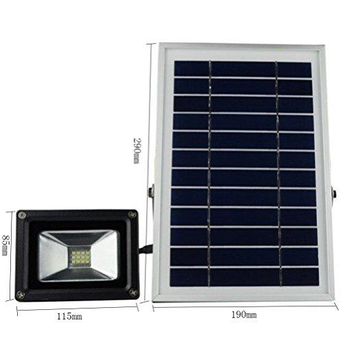 Solar-LED-Flut-Licht-im Freiensicherheits-Lampe ultra heller Hof-Ausgangsbeleuchtungs-Straßenlaterne, - Solar-power-outdoor-flut-licht