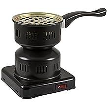 Encendedor eléctrico de carbón hornillo para SHISHA, CACHIMBA, NARGUILE, HOOKAH bajo consumo 450w