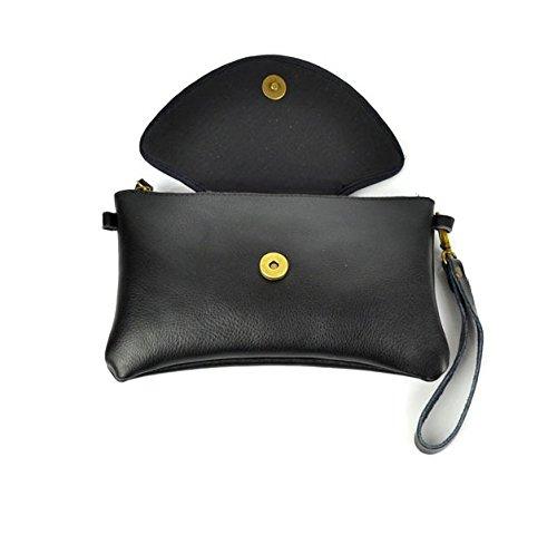 Nazionale PU borse in pelle–Memorecool ricamo modello borse fibbia magnetica Design sfondo nero black2 black3