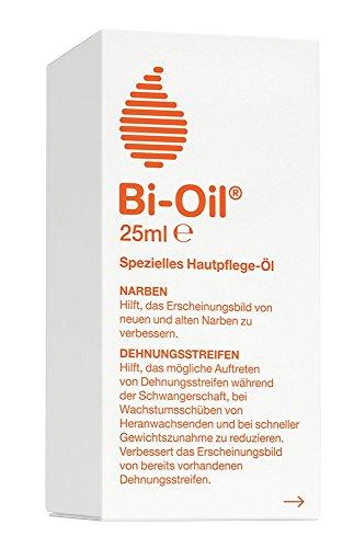 Bi-Oil Hautpflege-Öl , Spezielles Pflegeprodukt für Narben & Dehnungsstreifen (25 ml)
