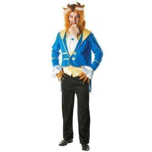 ren Die Schöne und das Biest Halloween Kostüm Kleid Outfit - Blau, Blau, STD (Die Schöne Und Das Biest Halloween)