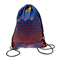 F.C. Barcelona Gym Bag Official Merchandise, Blue/Red, 44 x 33cm