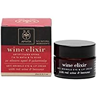 Apivita - Contorno antiarrugas ojos & labios wine elixir