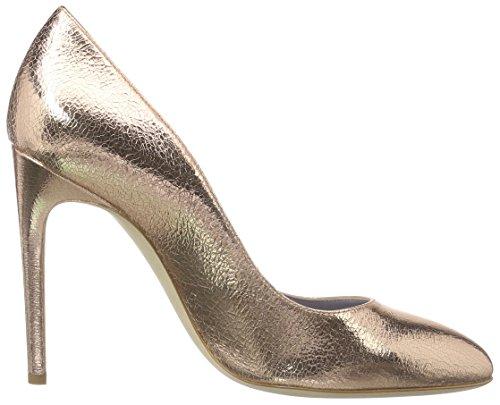 Pollini Scarpad.of Pk3/105 Lam.crack Quartz, Escarpins femme Gold (Gold 609)